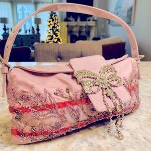 Valentino Satchel Clutch Bag